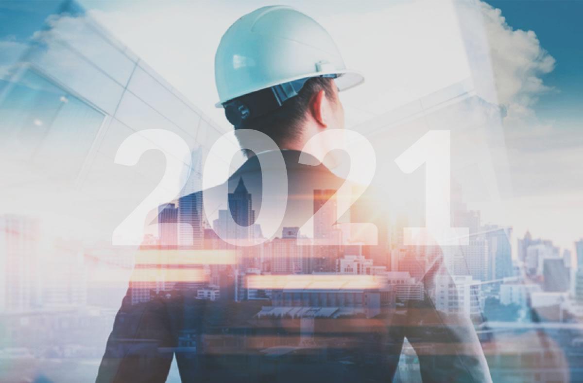 O crescimento da construção civil e o cenário favorável para 2021